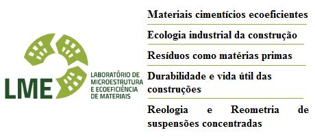 Laboratório de Microestrutura e Ecoeficiência (LME)